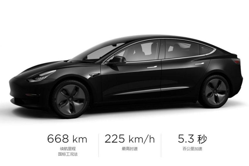 Tesla Model 3 Long Range-RWD keert terug in China