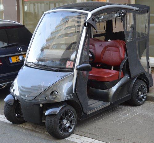 Foto van een Garia golfkar. Geplaatst door buttonfreak op 24-09-2021 om 11:54:55, op EVFan.nl - de nummer 1 Elektrische Auto website.